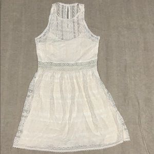 Cream lace Abercrombie & Fitch dress